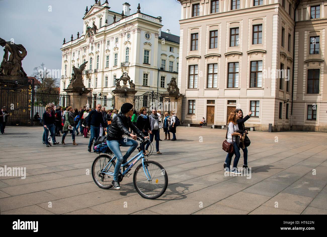 Beautiful Girl On A Cycle Stock Photos & Beautiful Girl On ...