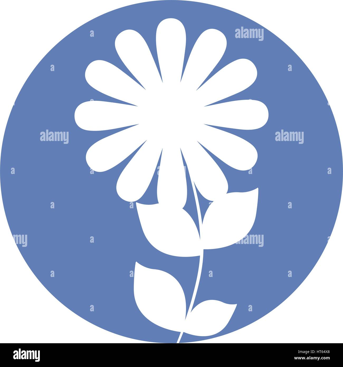 Shape Daisy Stock Vector Images Alamy