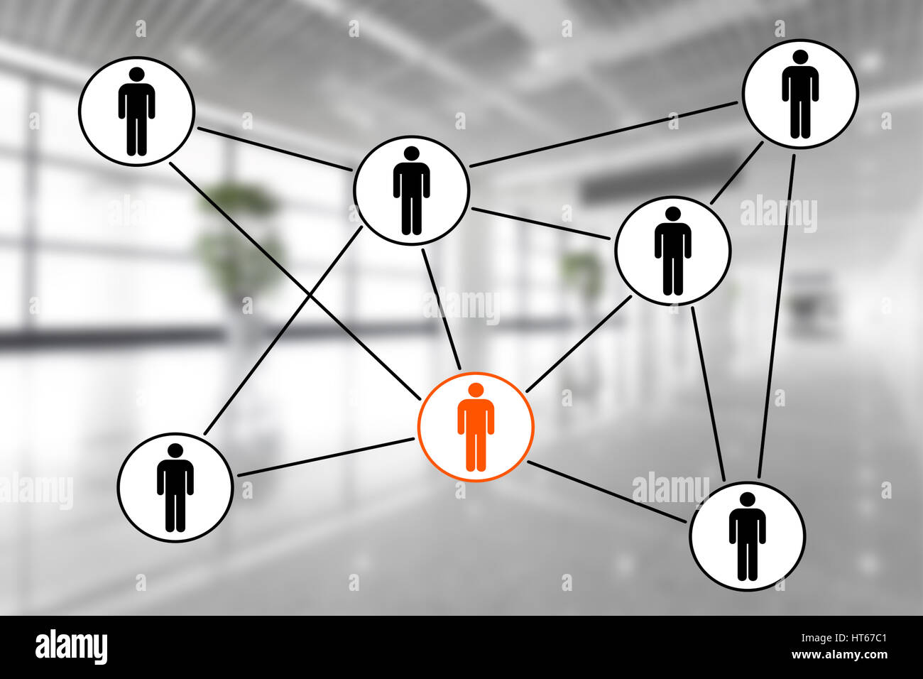business relationships concept - Stock Image