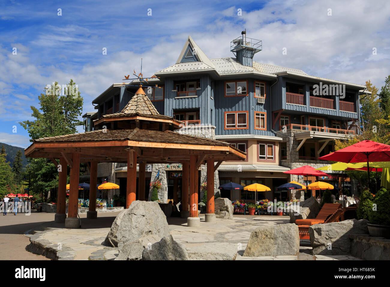 Whistler Village, British Columbia, Canada, North America - Stock Image