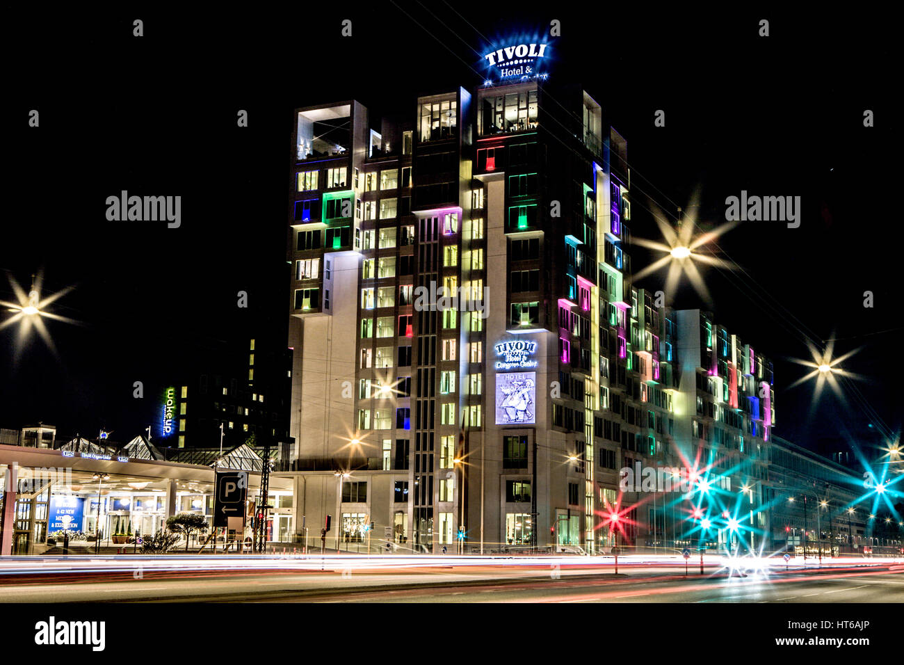 Tivoli Hotel Is Located In Central Copenhagen And Owned By Arp Hansen Stock Photo Alamy