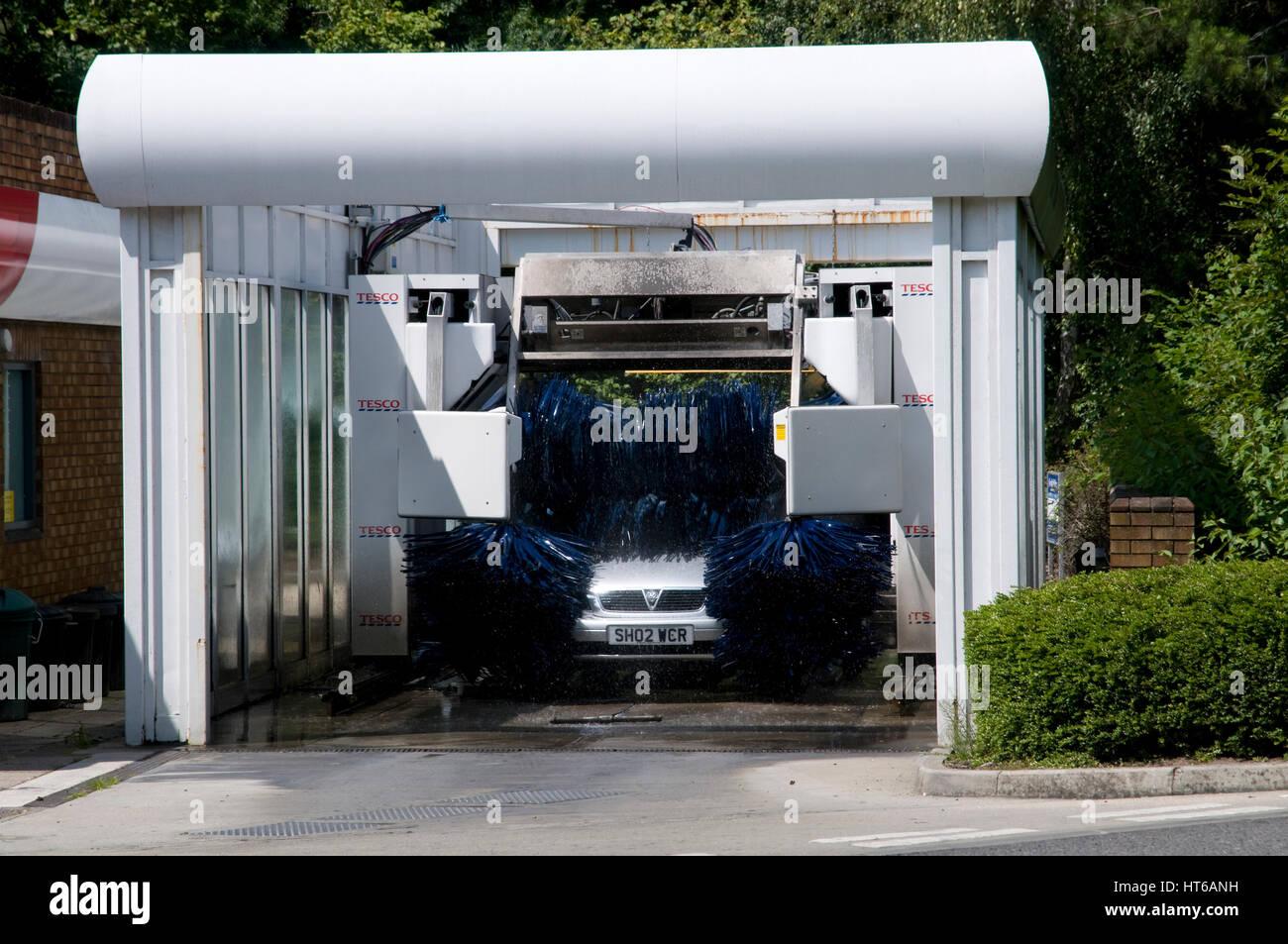 Automated car wash 2011 - Stock Image