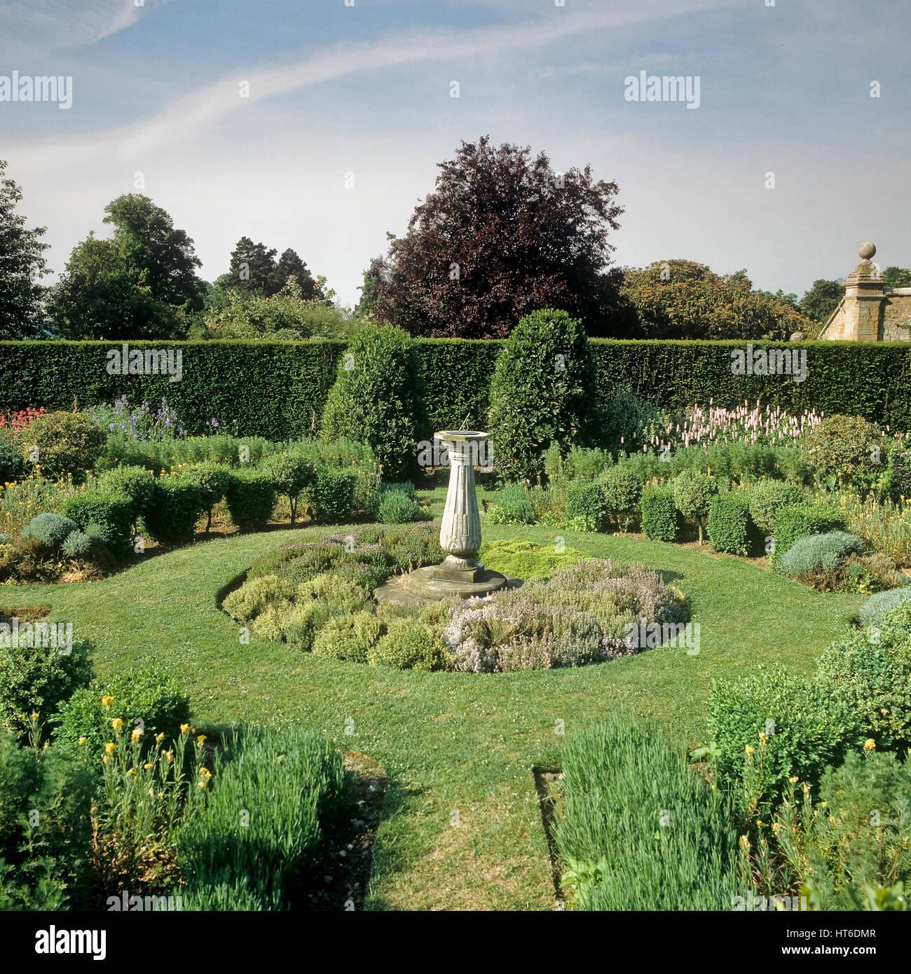 Formal garden. - Stock Image