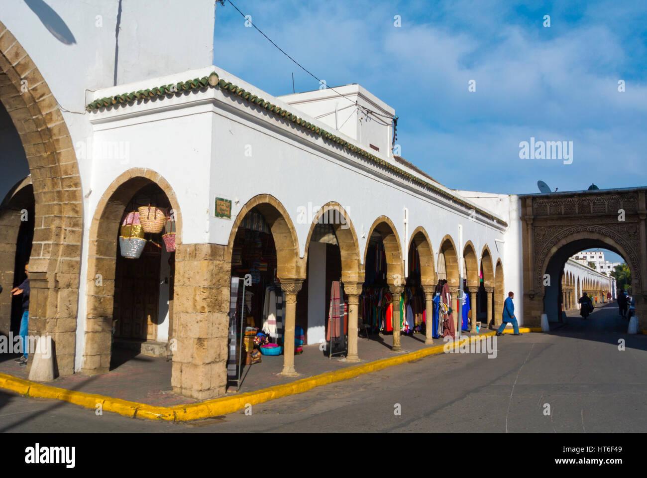 Quartier des Habous, Nouvelle Medina, Casablanca, Morocco - Stock Image