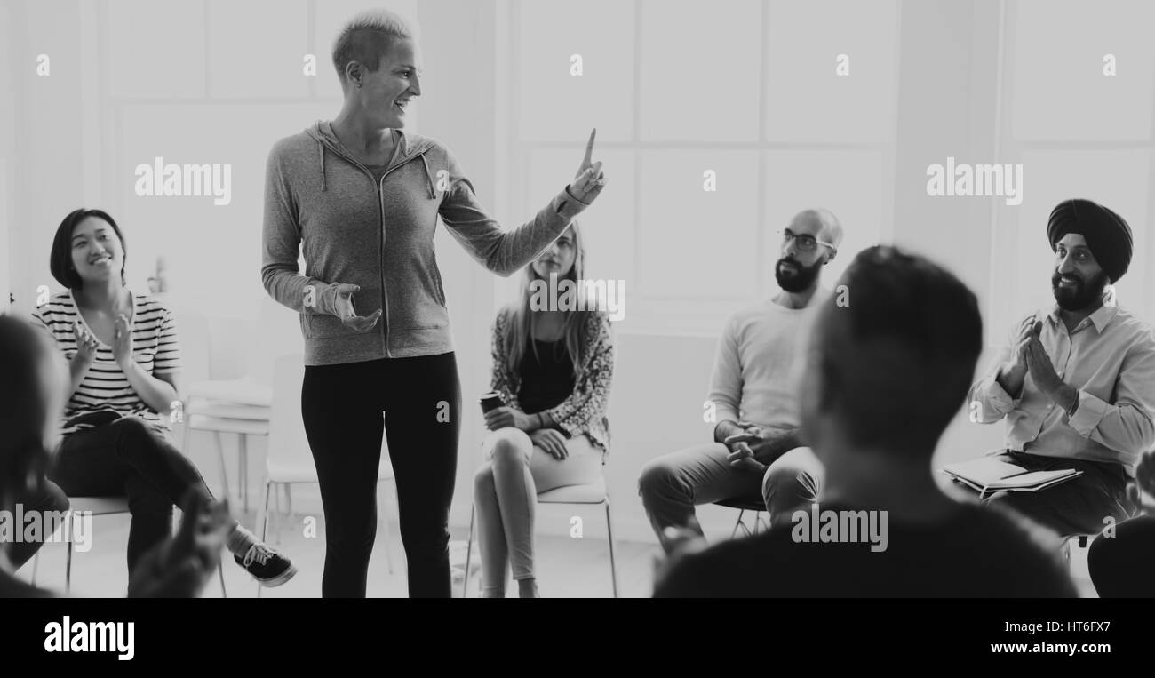 Networking Seminar Meet Ups Concept - Stock Image