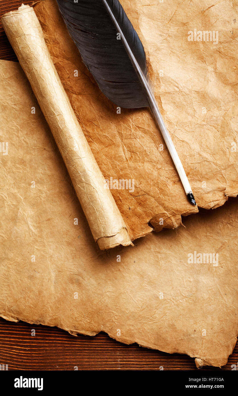 Parchment Quill Stock Photos & Parchment Quill Stock ...