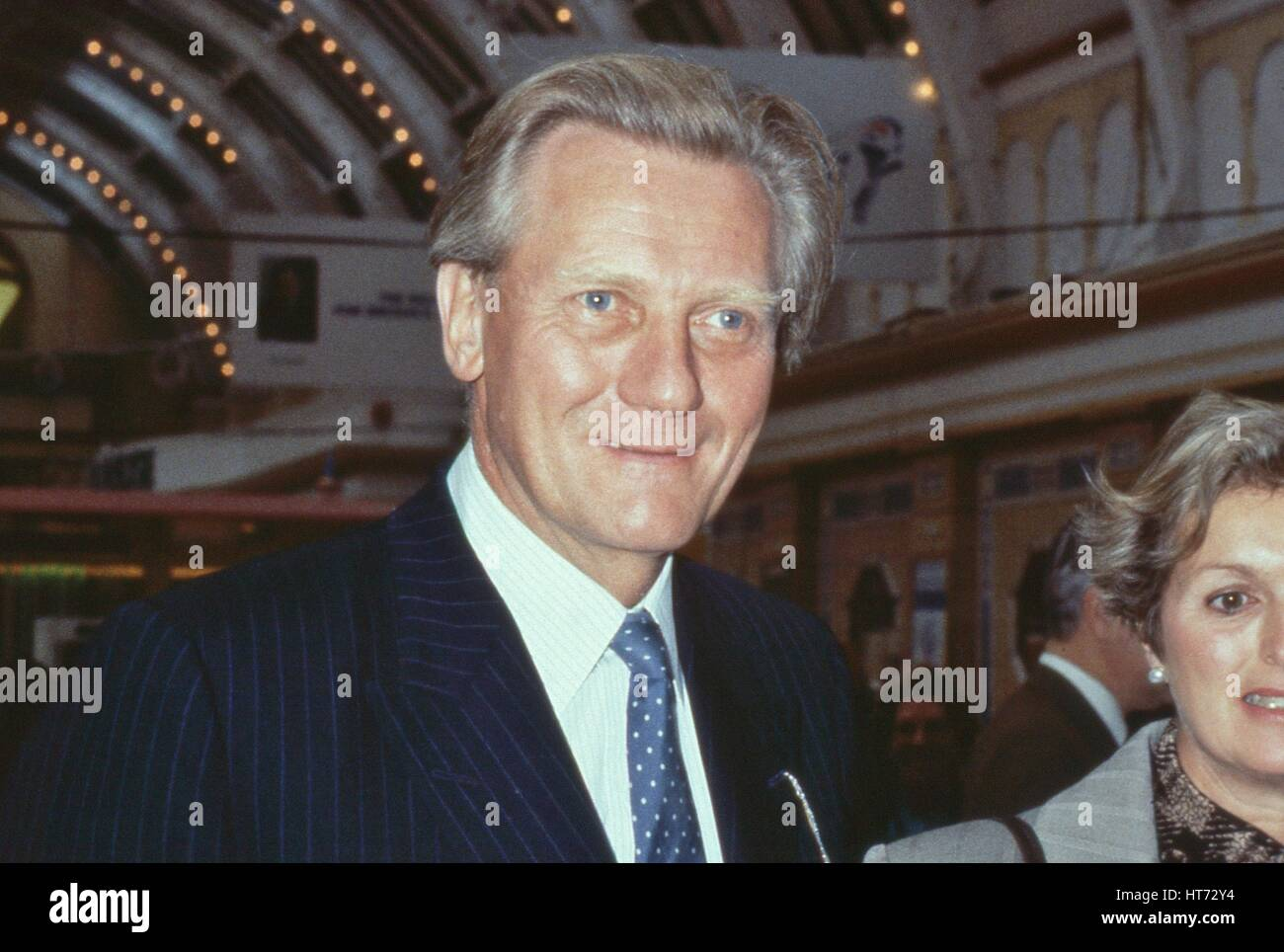 Michael Heseltine, Conservative party Member of Parliament for Henley and former Secretary of State for Defence, Stock Photo