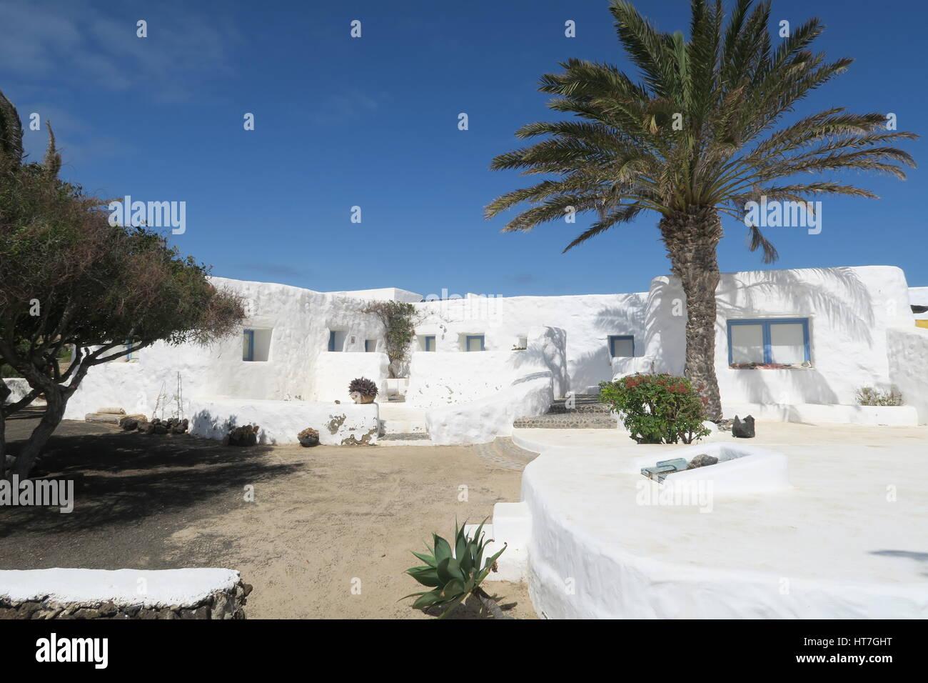 Houses at Pedro Barba - Stock Image