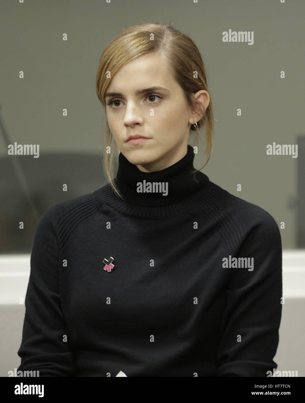 United Nations, New York, USA, September 20 2016 - UN Womens Goodwill Ambassador, Emma Watson launch the HeForShe - Stock Image
