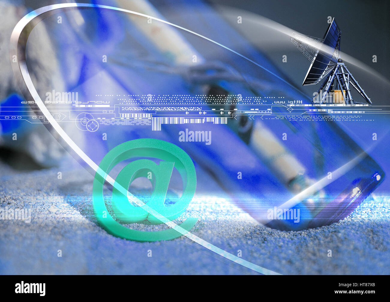 differential focus,horizontal,color,colour,illustration,nobody,digital composite,composite,graphic,art,layer,complex,digital - Stock Image