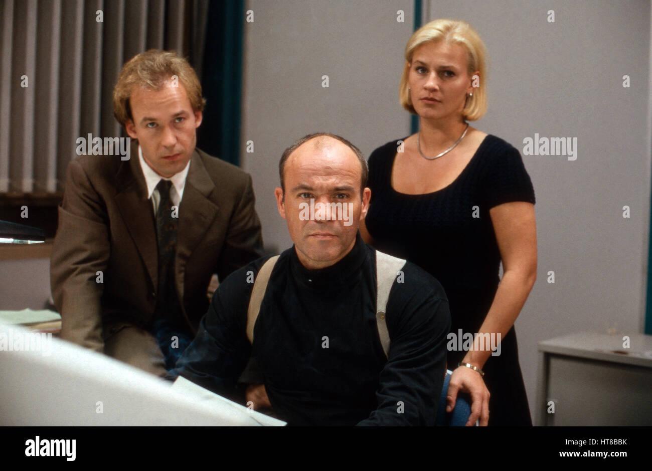 Der Skorpion, Fernsehfilm, Deutschland 1996, Regie: Dominik Graf, Darsteller: Ulricht Noethen, Heiner Lauterbach, - Stock Image