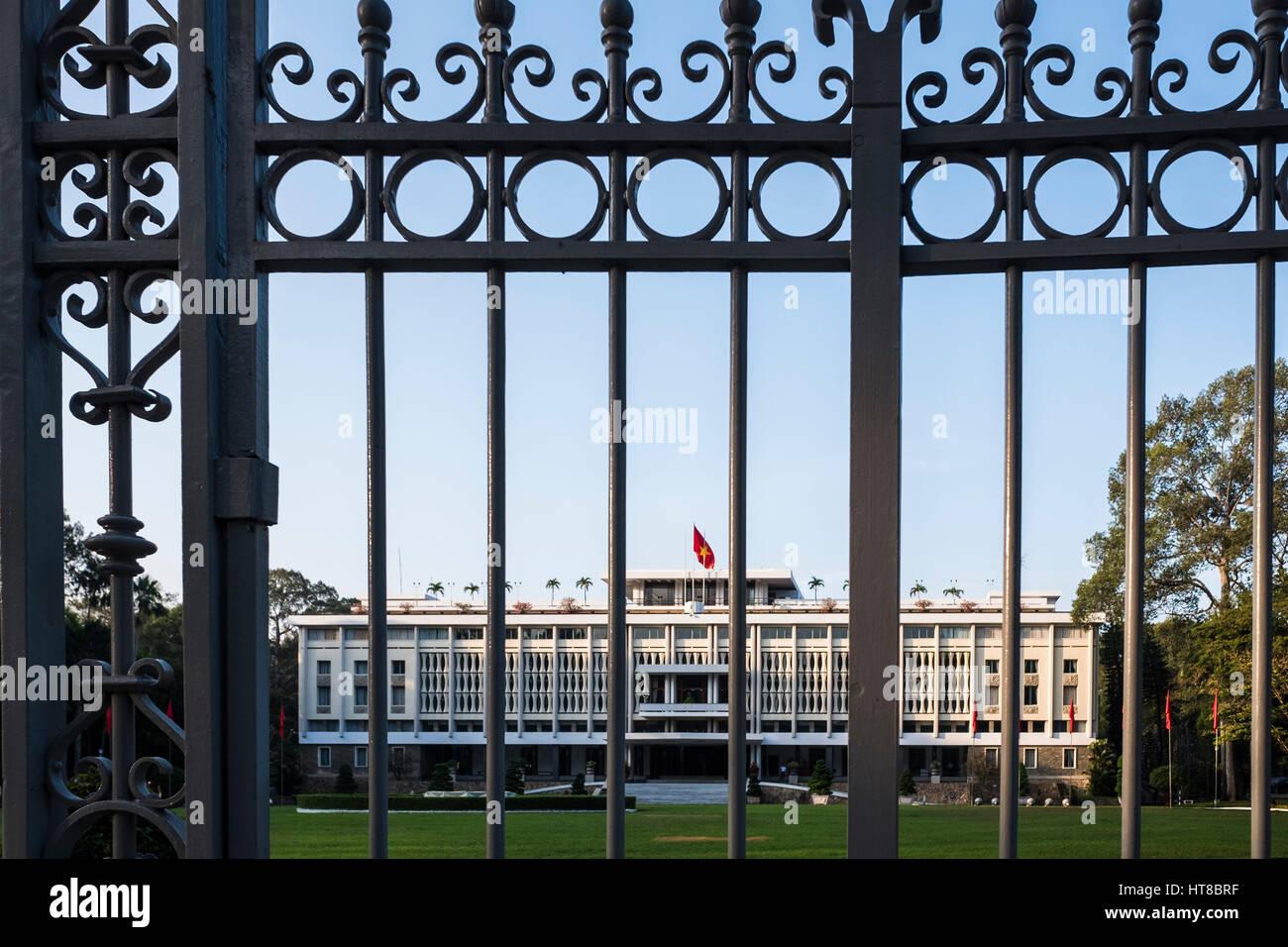 Independance Palace, Ho Chi Minh City, Vietnam - Stock Image