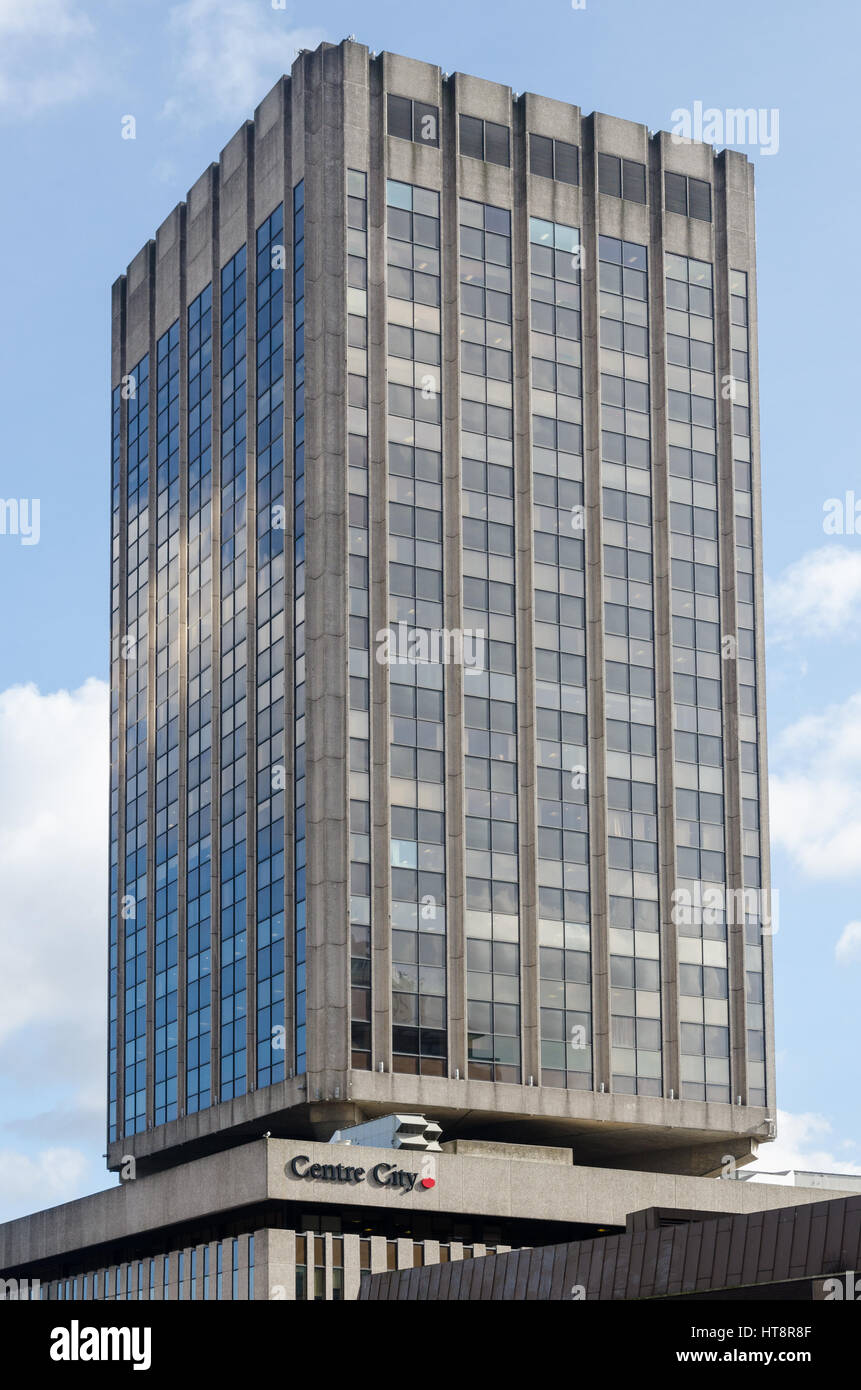 Centre City Tower in Hill Street, Birmingham - Stock Image