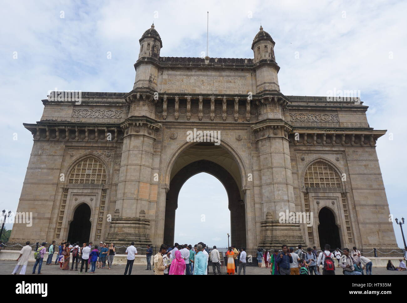 This Historical place is magnetic, attractive, stunning place in Mumbai and it is called Gateway of India. - Stock Image