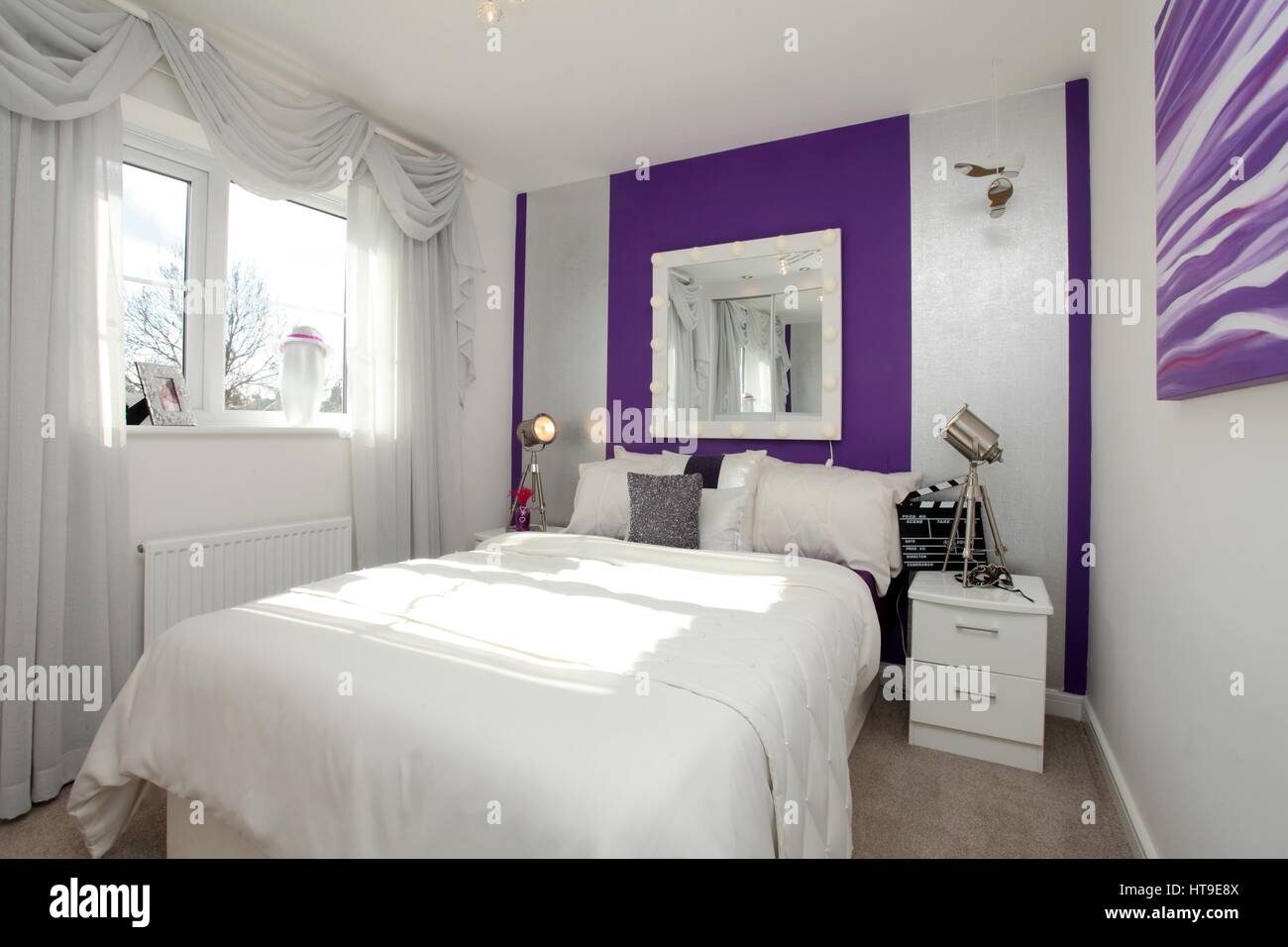 purple feature wall bedroom our home ideas purple feature wall in bedroom www indiepedia org 811