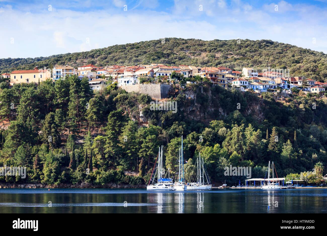 Spartochori, Meganissi, Greece - Stock Image