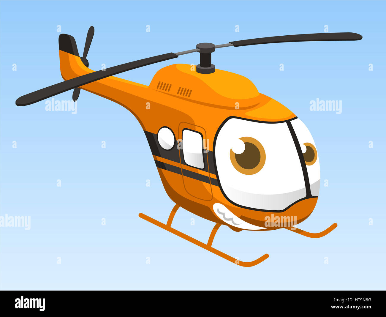 The Best Flying Helicopter Cartoon Images PNG