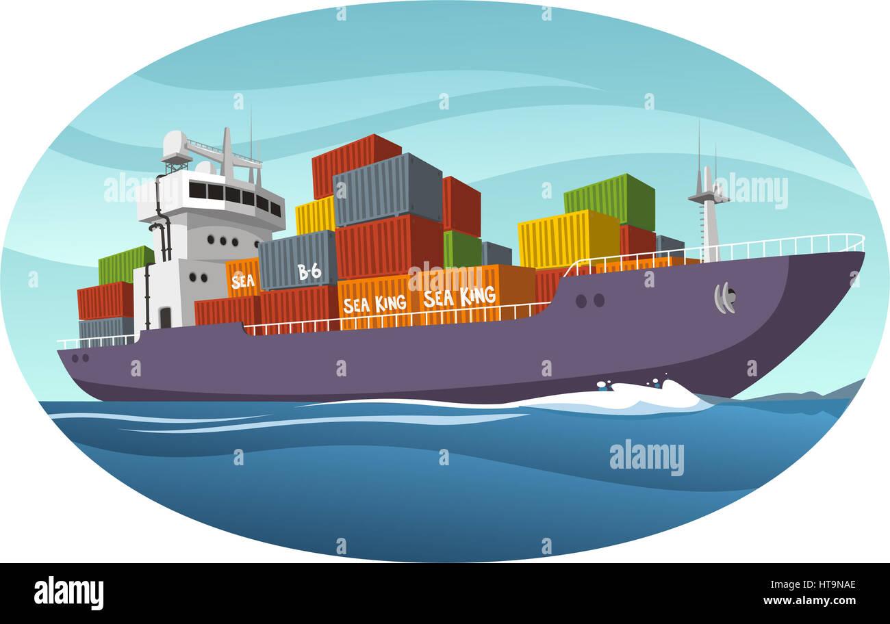 Reefer Ship Stock Photos & Reefer Ship Stock Images