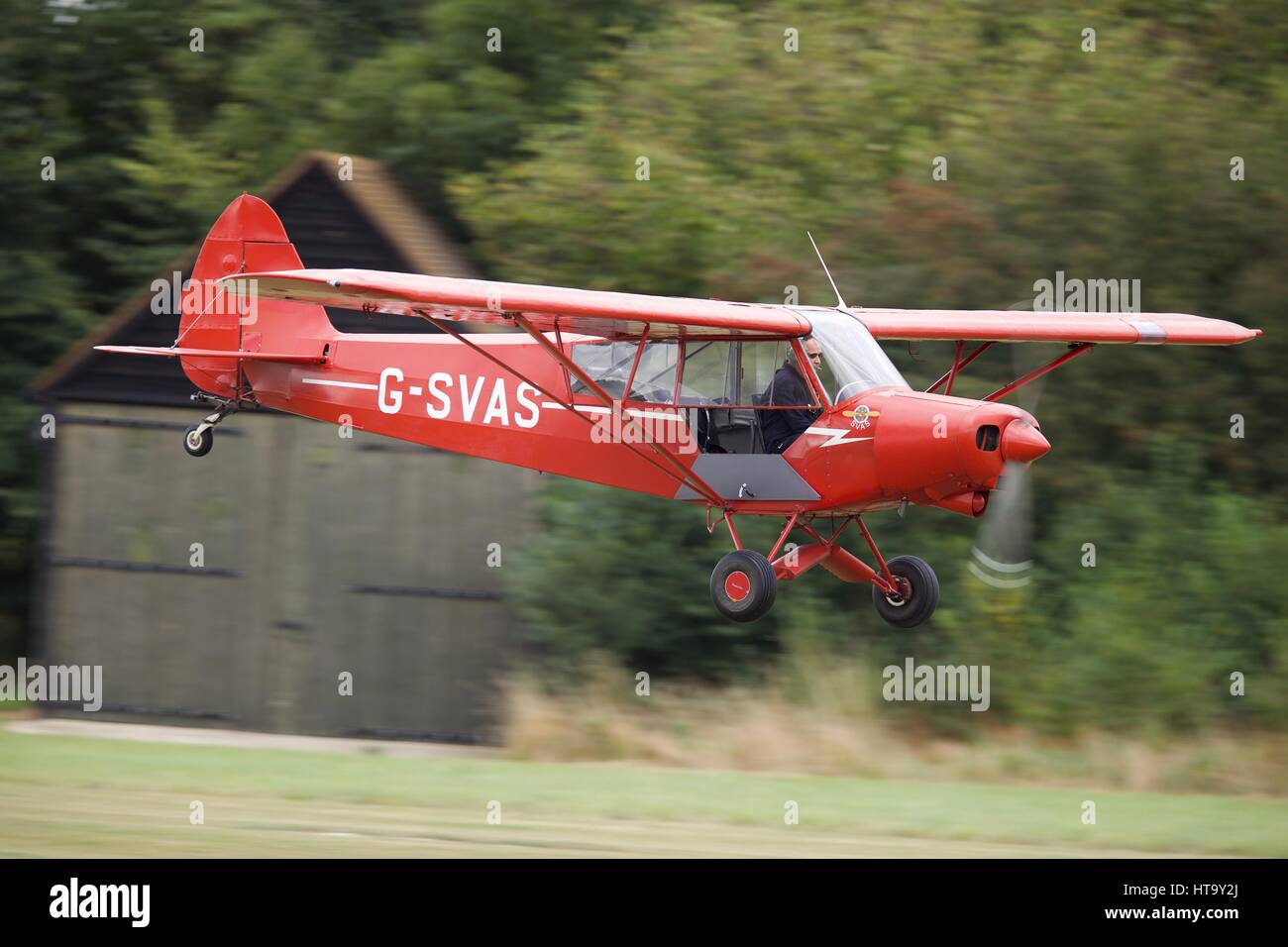 Vintage Piper Cub Stock Photos & Vintage Piper Cub Stock Images - Alamy