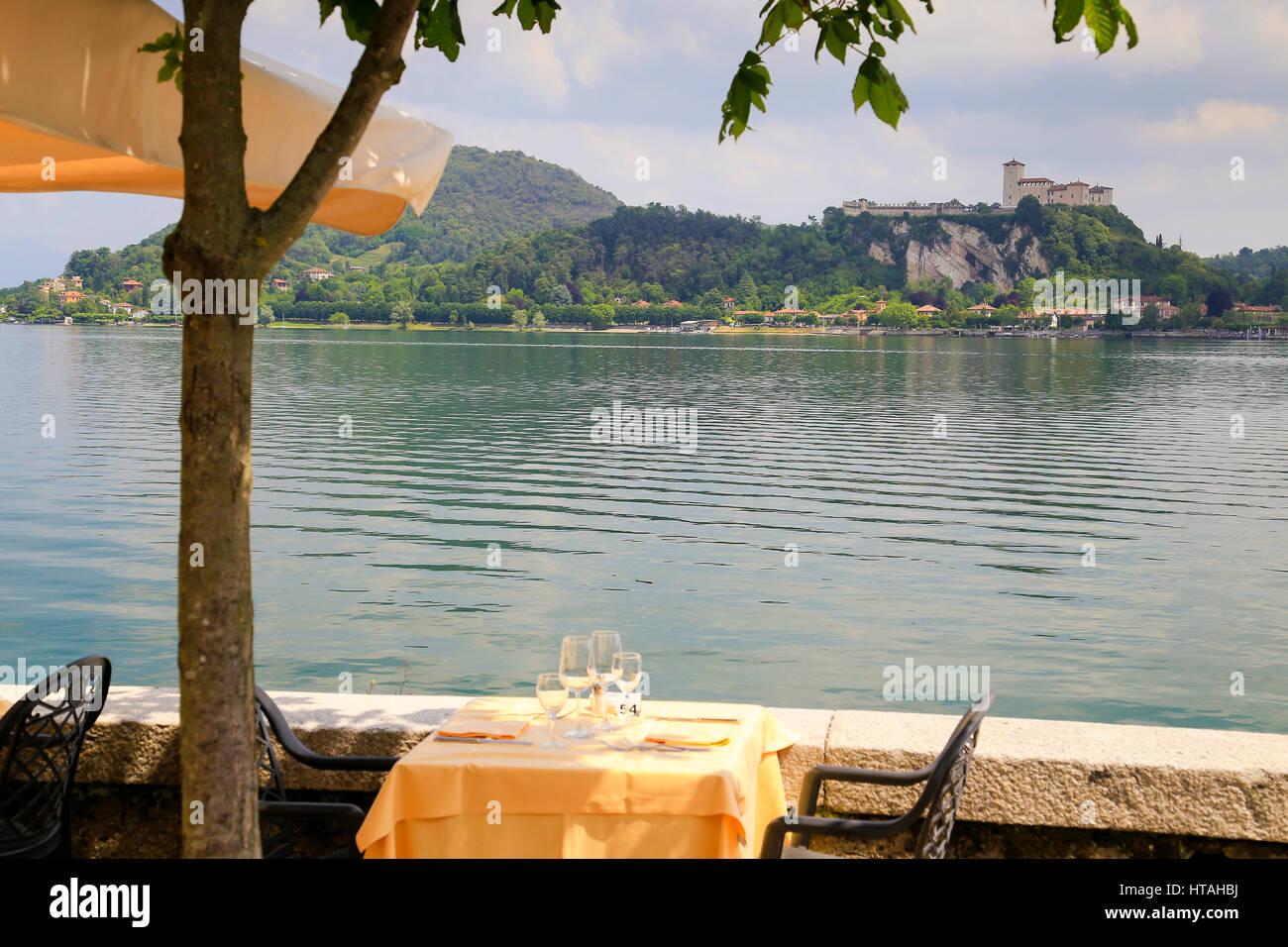 Lake Maggiore Islands - Isola Bella, Isola Madre, Isola Pescatore - Stock Image