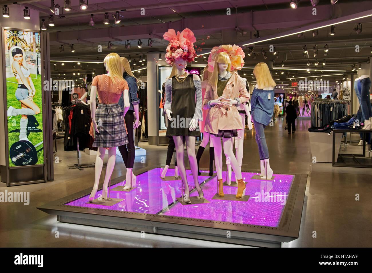 Macy clothing store