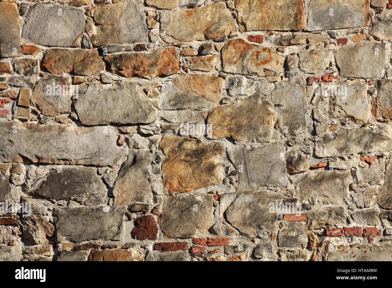 natursteinmauer stock photo: 135459853 - alamy