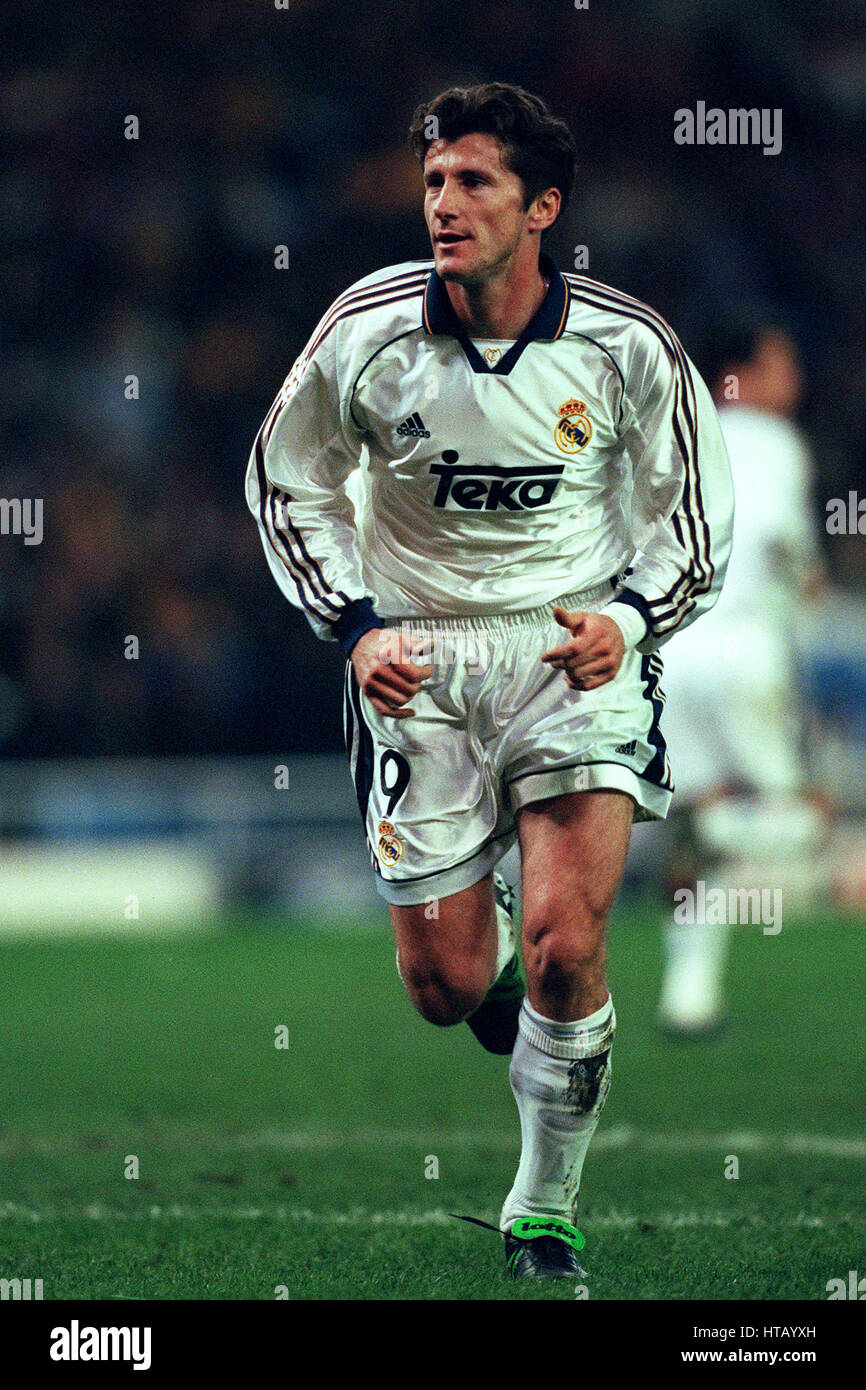 5d0214f8b DAVOR SUKER REAL MADRID FC 03 March 1999 Stock Photo  135465753 - Alamy