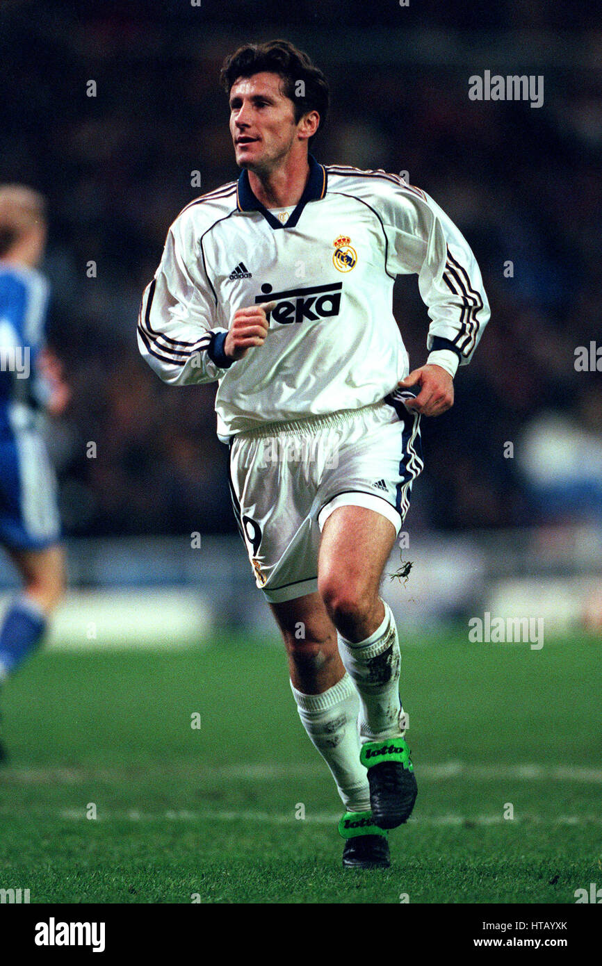 3ade36595 DAVOR SUKER REAL MADRID FC 03 March 1999 Stock Photo  135465755 - Alamy