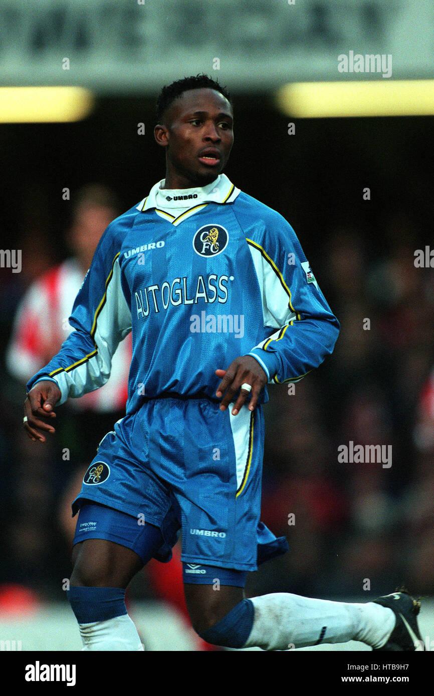 CELESTINE BABAYARO CHELSEA FC 09 February 1999 - Stock Image