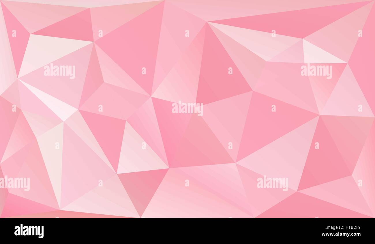 Low Poly Background Graphic Design Element Valentines Day Or Stock