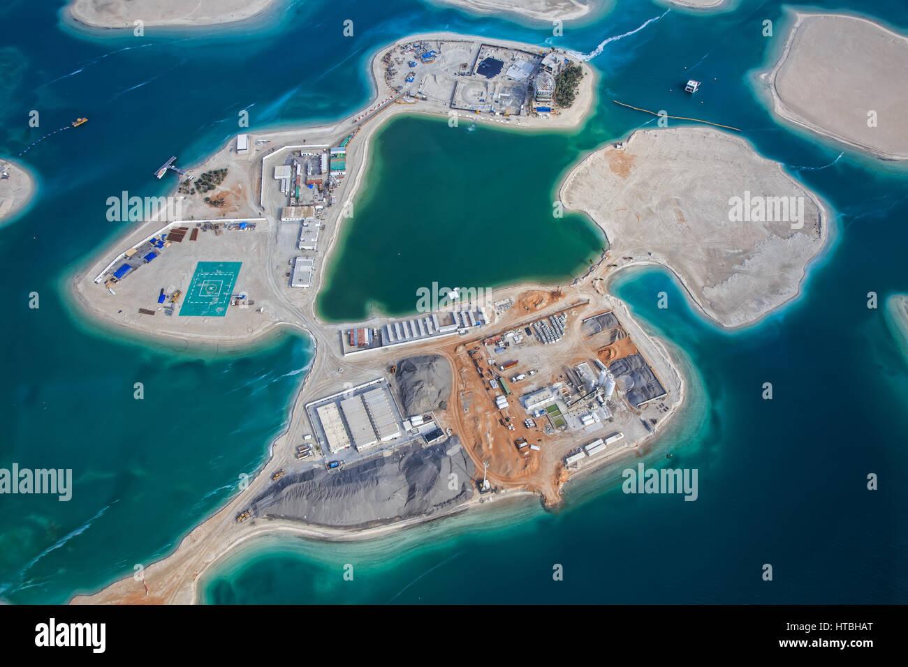 Dubaiuae march 9 2017 the world islands stock photo 135479424 dubaiuae march 9 2017 the world islands gumiabroncs Gallery
