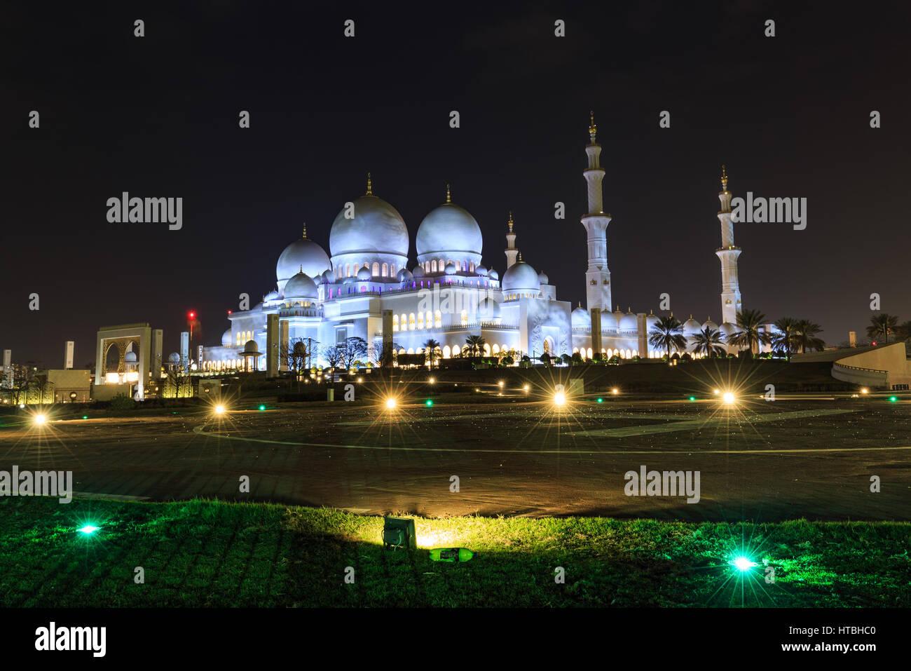 Sheikh zayed Stock Photo