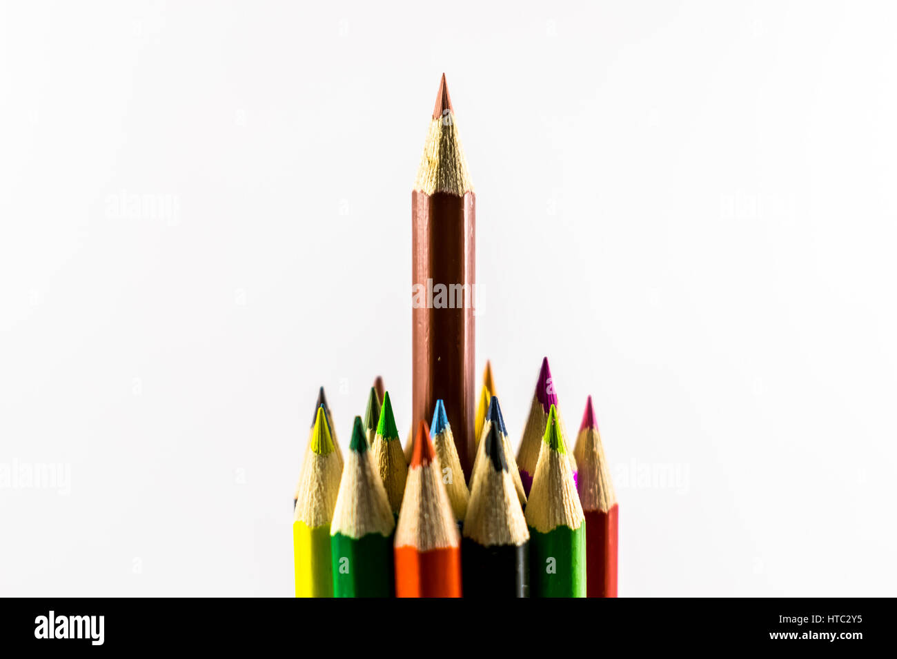 Colored pencils - Stock Image