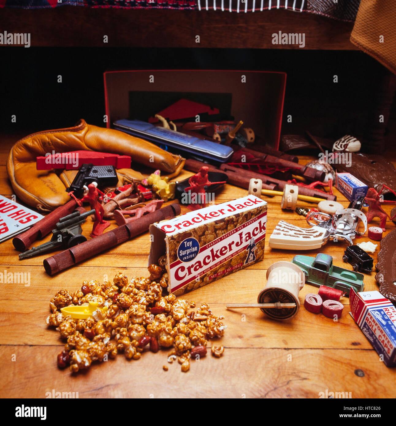 Cracker Jacks - Stock Image