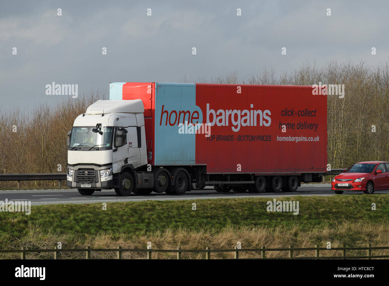 Home Bargains Lorry Stock Photos Home Bargains Lorry Stock Images