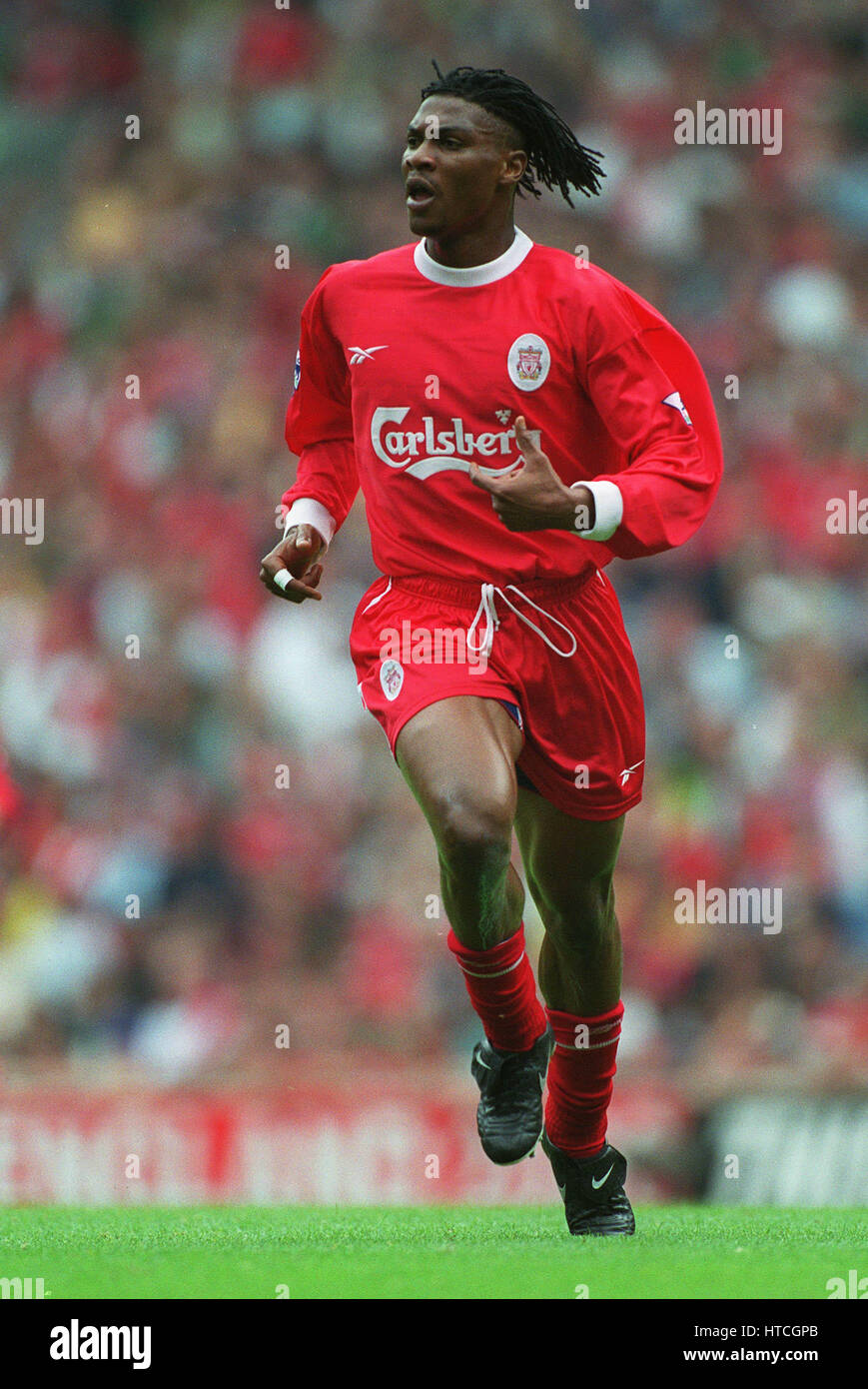 RIGOBERT SONG LIVERPOOL FC 11 September 1999 - Stock Image