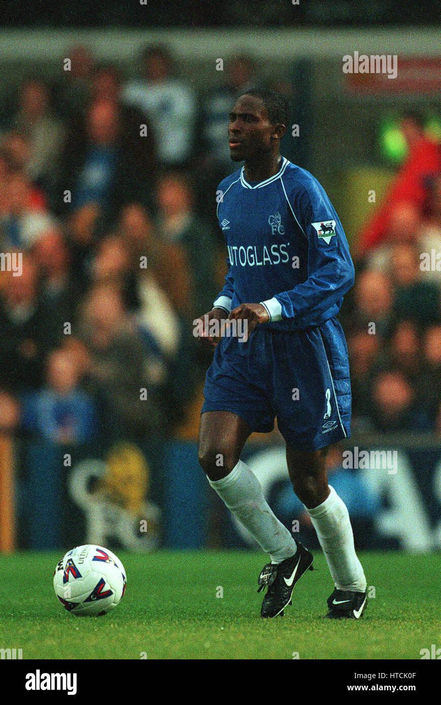 CELESTINE BABAYARO CHELSEA FC 23 October 1999 - Stock Image