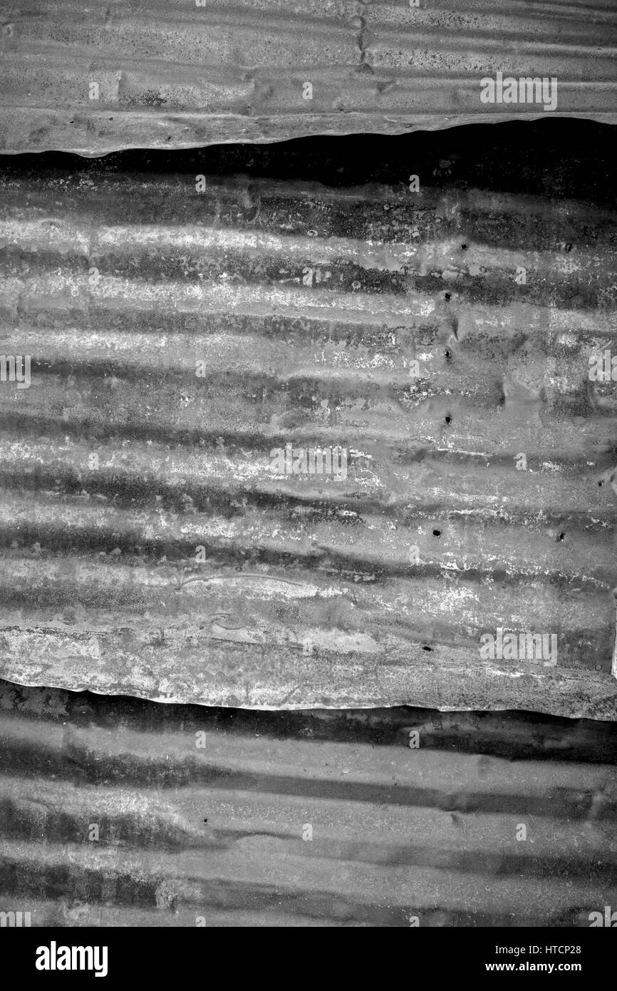 Tin window cover. The Bodie State Park is the remains of Bodie, a silver and copper mining town in the eastern California Stock Photo