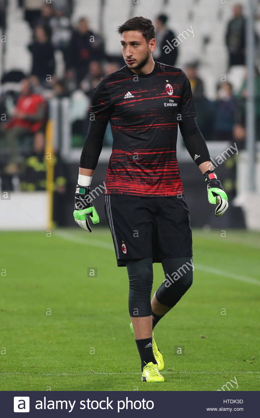 Gianluigi Donnarumma (AC Milan) before the Serie A football ...