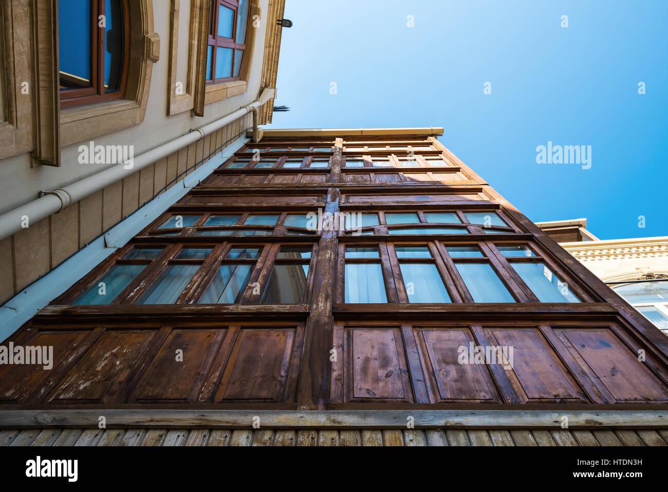 Azerbaijan, Baku, Old town city - Stock Image