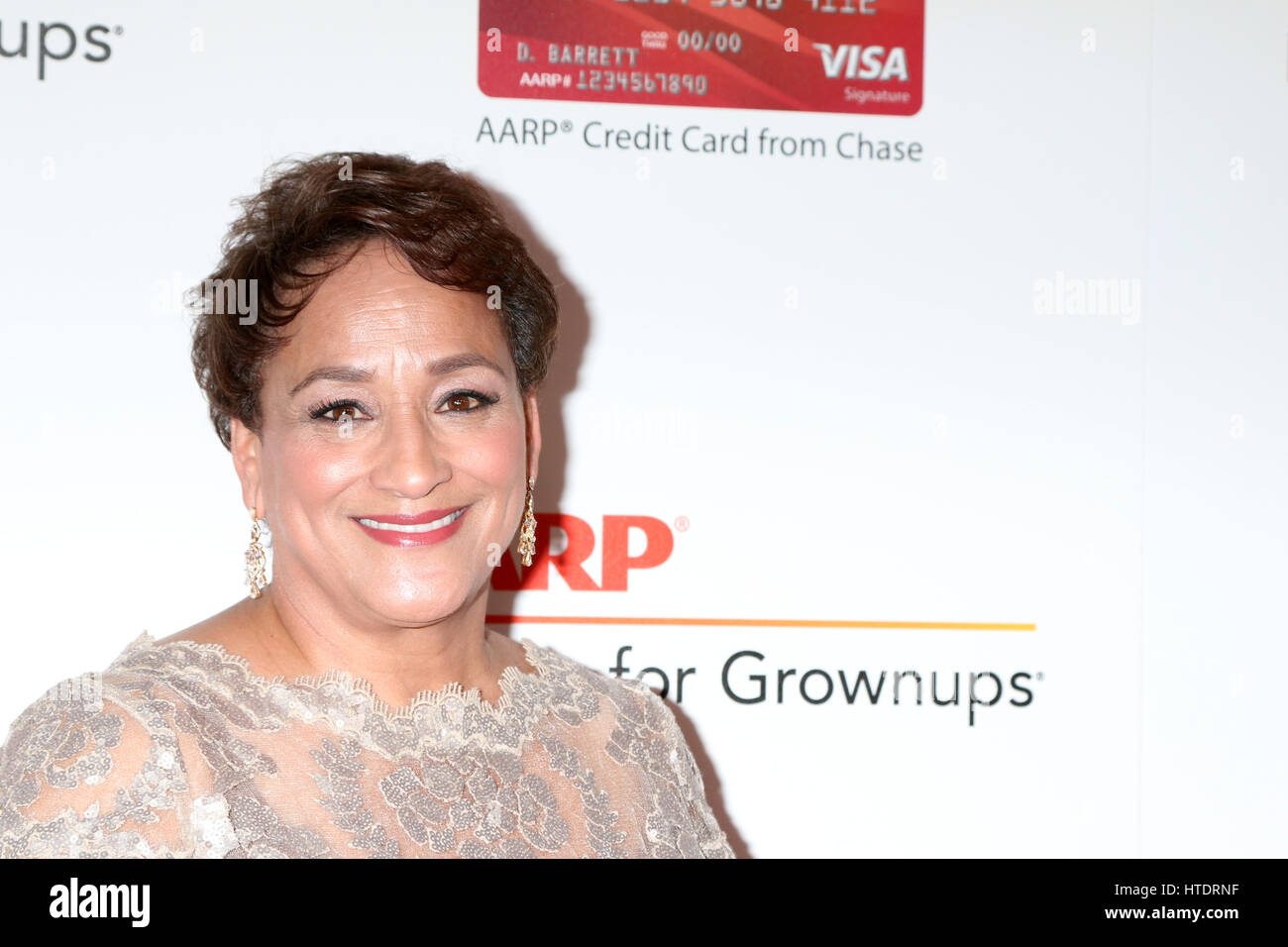 AARP Movies for Grownups Awards at Beverly Wilshire Hotel on February 6, 2017 in Beverly Hills, CA  Featuring: Joanne - Stock Image