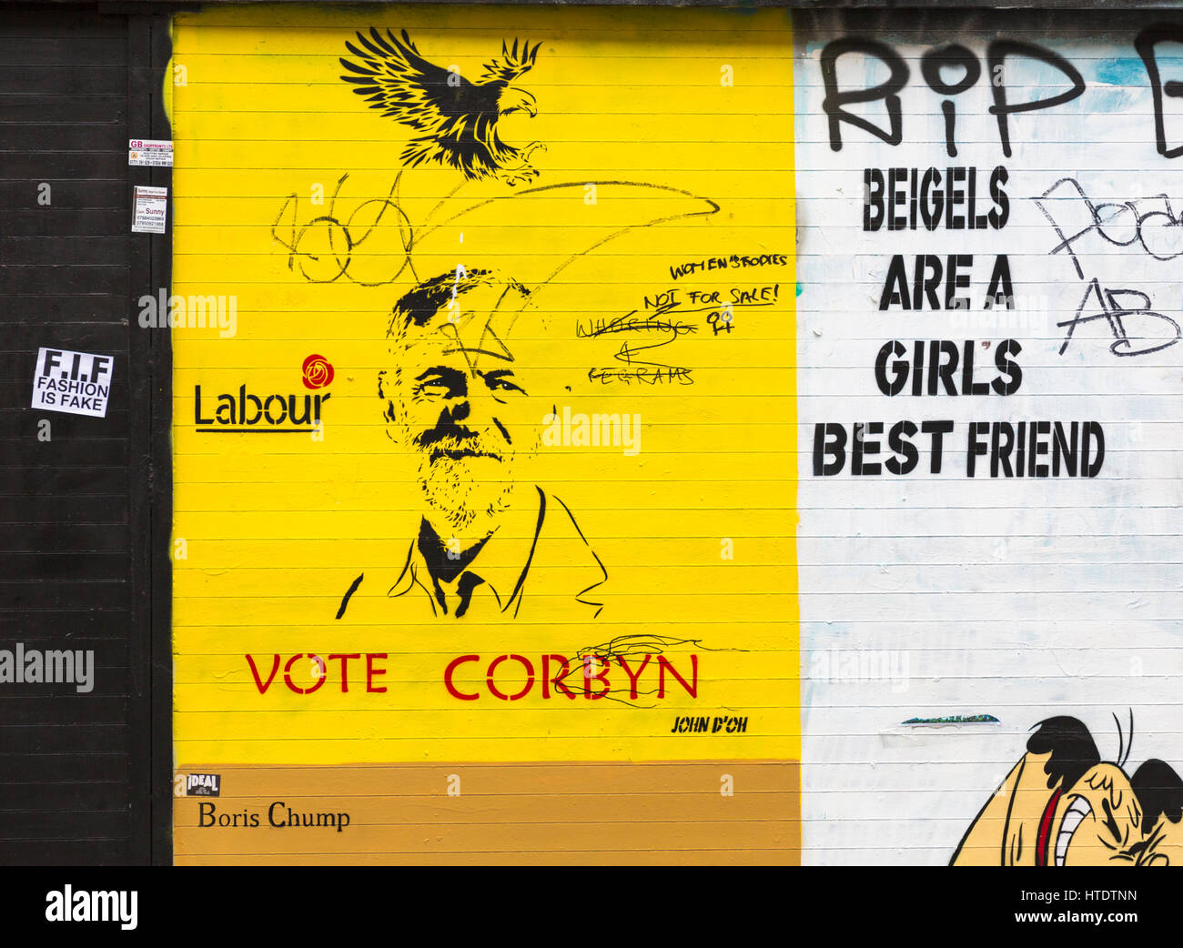 Vote Corbyn, Boris Chump and beigels are a girls best friend, womens ...