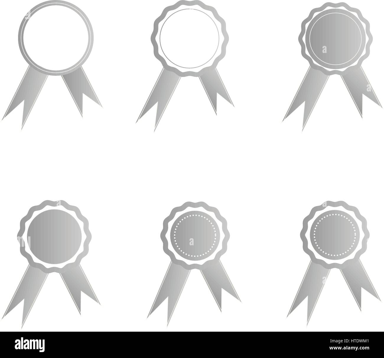 Awards medall illustration - Stock Vector