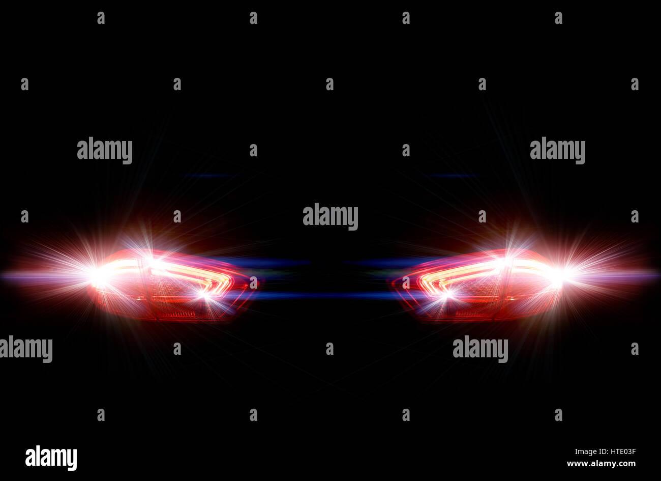 Led Car Lights Stock Photos Led Car Lights Stock Images Alamy