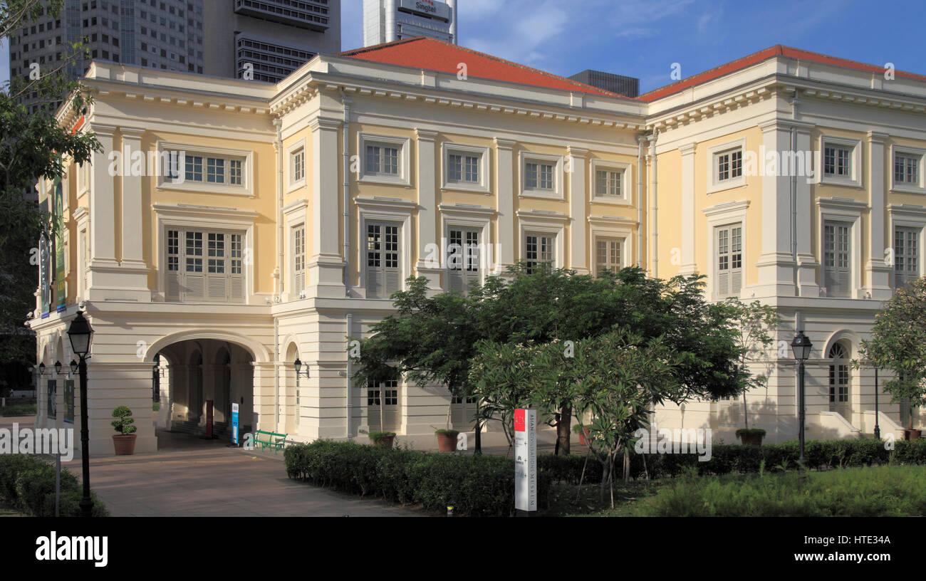 Singapore, Asian Civilisations Museum, - Stock Image