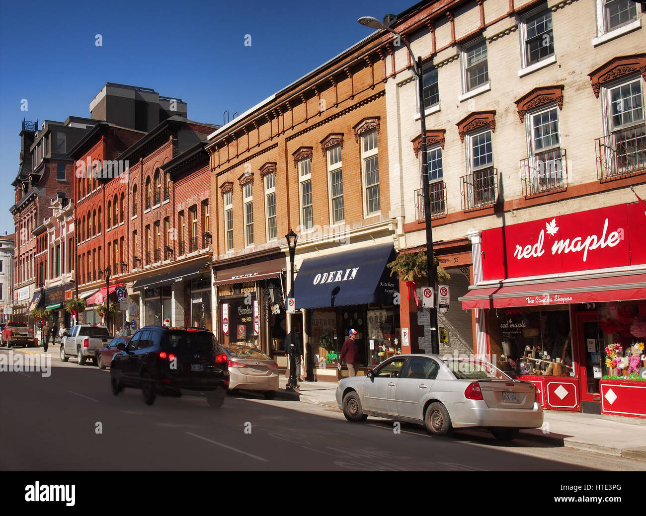 Ontario Canada Downtown Kingston, Ontar...