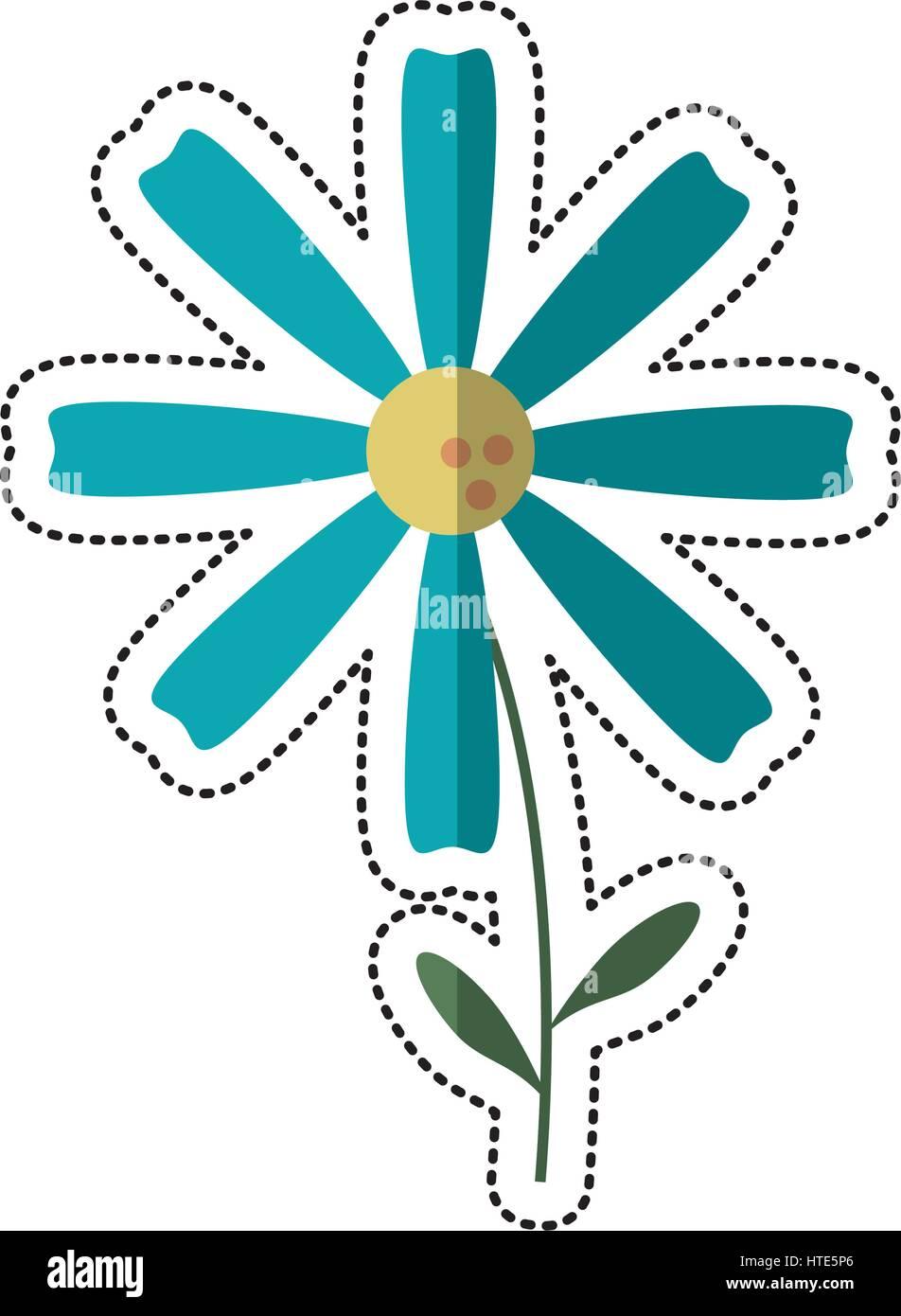 Cartoon daisy flower image stock photos cartoon daisy flower image cartoon daisy flower decoration image stock image izmirmasajfo