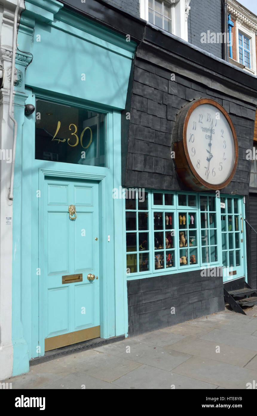 4f17f41a26 Vivienne Westwood Worlds End Shop in King's Rd, Chelsea, London, UK ...