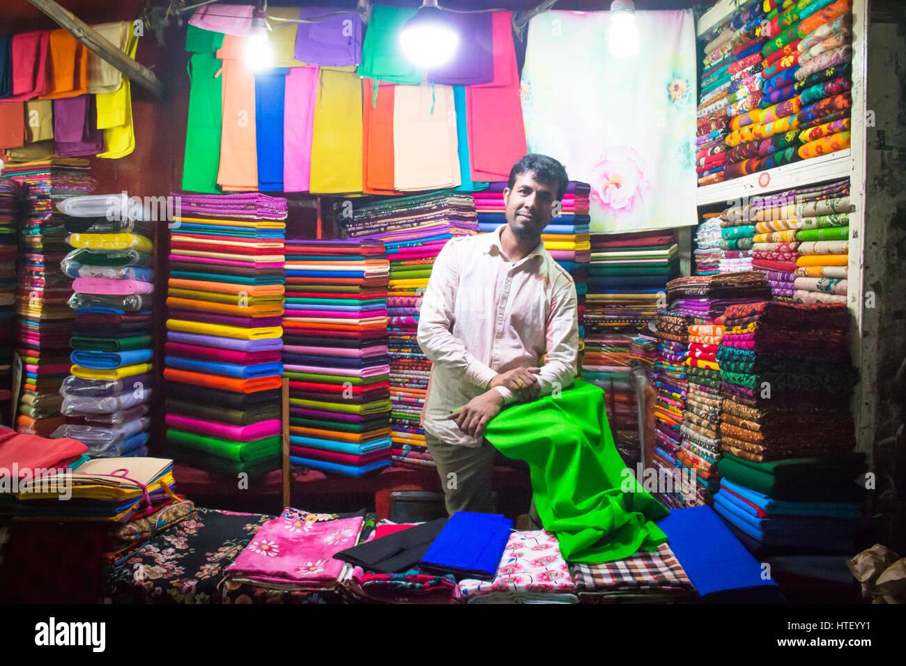 Man Woman Clothes Colorful Stock Photos & Man Woman Clothes