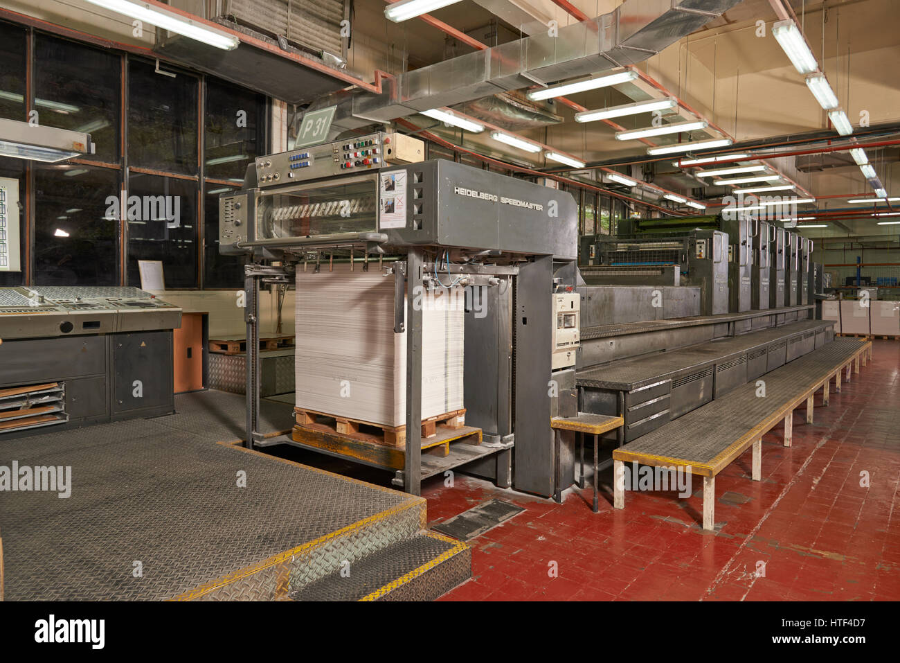 Offset Printer - Stock Image